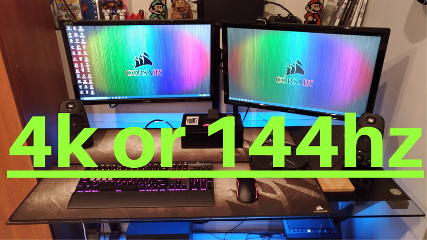 4k or 144hz