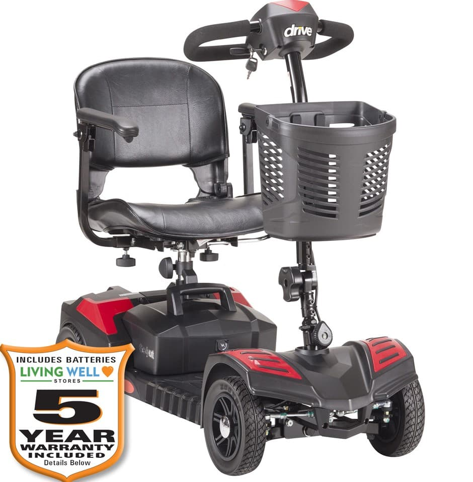 mobility scooter 400 lb capacity