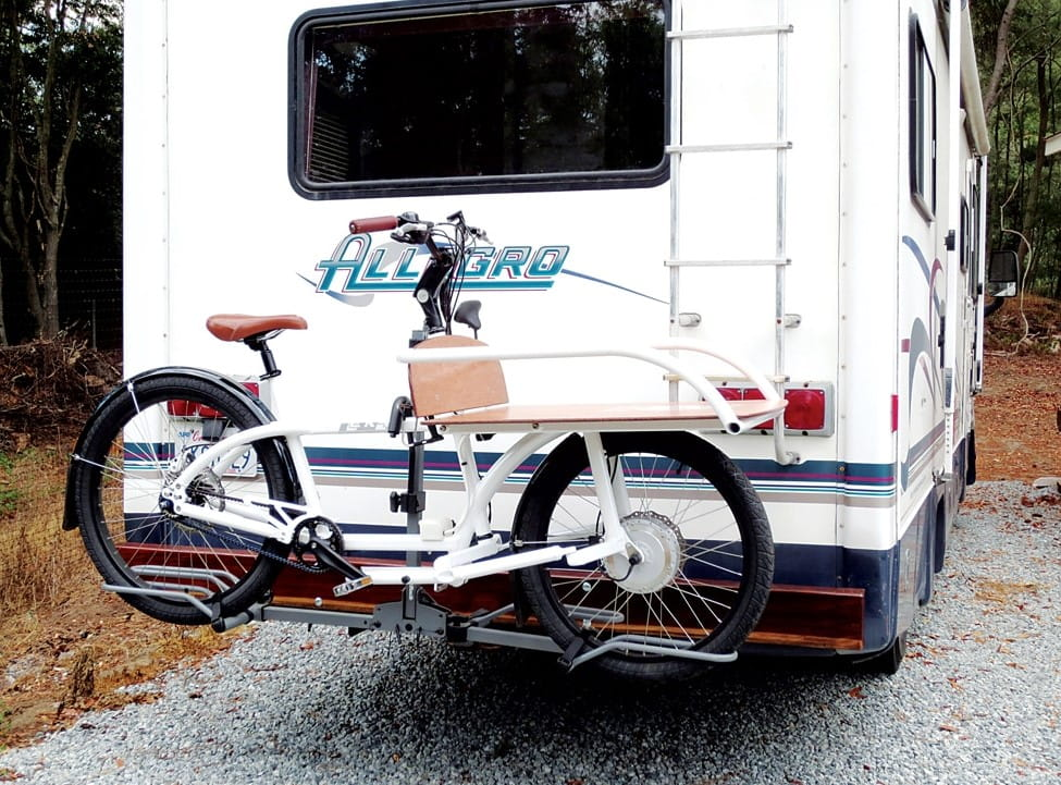 electric bike rack for motorhome