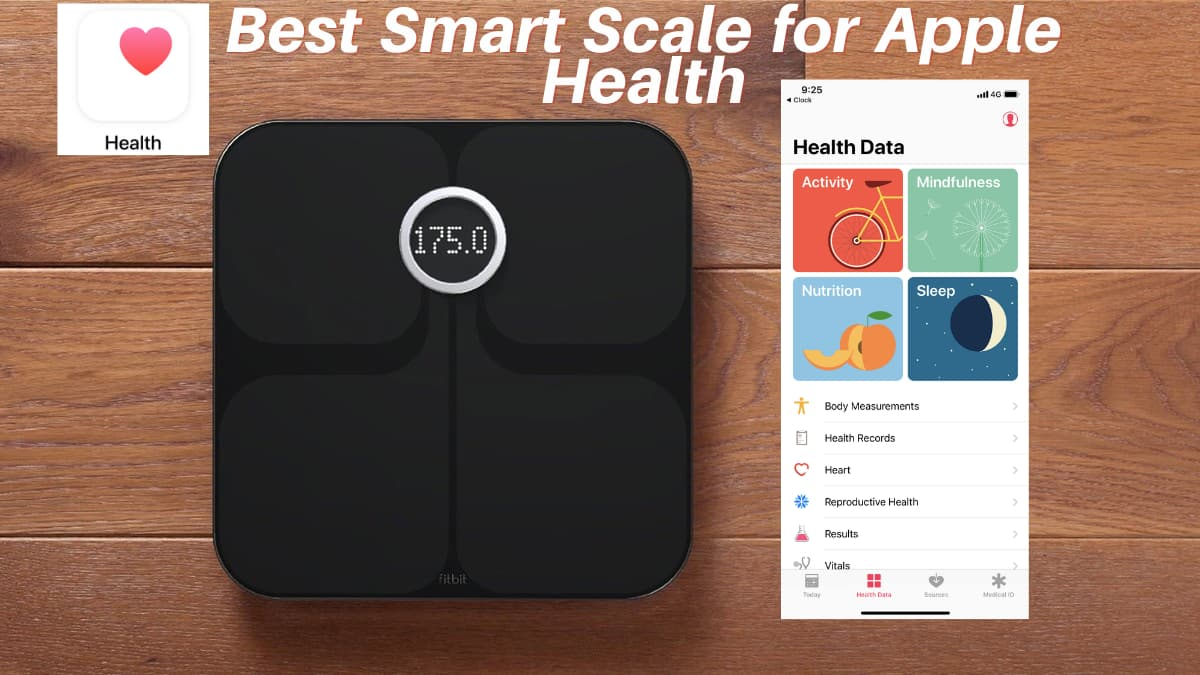 best smart scale for apple health